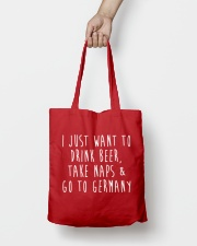Drink Beer Take Naps Go to Germany Tote Bag lifestyle-totebag-front-2