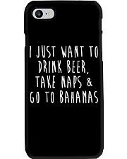 Drink Beer Take Naps Go to Bahamas Phone Case thumbnail