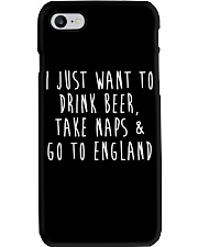 Drink Beer Take Naps Go to England Phone Case thumbnail