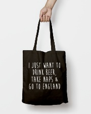 Drink Beer Take Naps Go to England Tote Bag lifestyle-totebag-front-2
