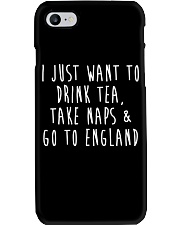 Drink Tea Take Naps Go to England Phone Case thumbnail