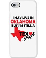 Texas Girl Lives in Oklahoma Phone Case thumbnail