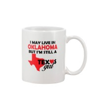 Texas Girl Lives in Oklahoma Mug thumbnail