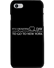 It's A Beautiful Day to go to New York Phone Case thumbnail