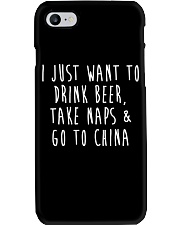 Drink Beer Take Naps Go to China Phone Case thumbnail