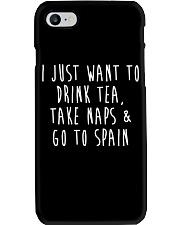 Drink Tea Take Naps Go to Spain Phone Case thumbnail