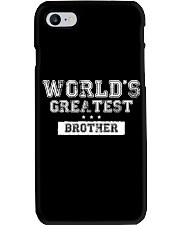 World's Greatest Brother Phone Case thumbnail