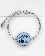 Hawaii Life - HiLife Metallic Circle Bracelet aos-bracelet-metal-front-lifestyle-2