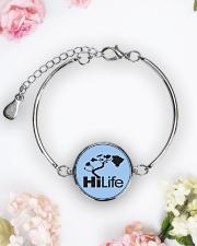 Hawaii Life - HiLife Metallic Circle Bracelet aos-bracelet-metal-front-lifestyle-6