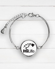 Hawaii Life - HiLife Metallic Circle Bracelet aos-bracelet-metal-front-lifestyle-2