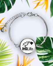Hawaii Life - HiLife Metallic Circle Bracelet aos-bracelet-metal-front-lifestyle-7