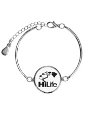 Hawaii Life - HiLife Metallic Circle Bracelet front