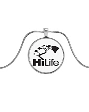Hawaii Life - HiLife Metallic Circle Necklace thumbnail