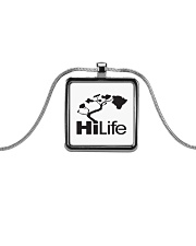 Hawaii Life - HiLife Metallic Rectangle Necklace thumbnail