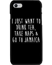 Drink Tea Take Naps Go to Jamaica Phone Case thumbnail