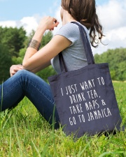 Drink Tea Take Naps Go to Jamaica Tote Bag lifestyle-totebag-front-6