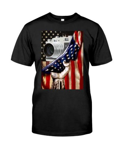 CAMERA USA FLAG