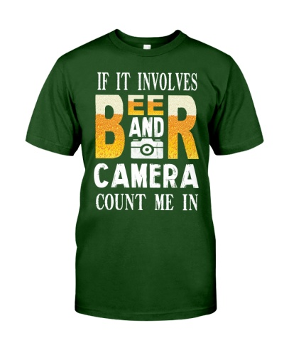 BEER AND CAMERA COUNT ME IN