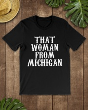 That woman from Michigan Classic T-Shirt lifestyle-mens-crewneck-front-18