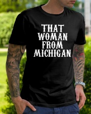 That woman from Michigan Classic T-Shirt lifestyle-mens-crewneck-front-7