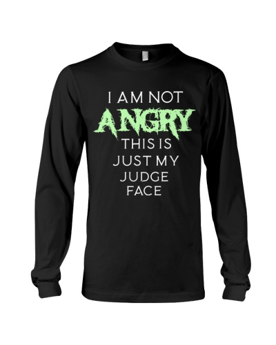 Not Angry Just Judge Face