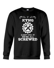 Everybody needs awesome Kyng Crewneck Sweatshirt thumbnail