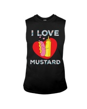 I love mustard-Floral Sleeveless Tee thumbnail