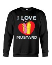 I love mustard-Floral Crewneck Sweatshirt thumbnail