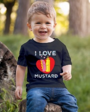 I love mustard-Floral Youth T-Shirt lifestyle-youth-tshirt-front-4