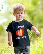 I love mustard-Floral Youth T-Shirt lifestyle-youth-tshirt-front-5