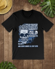 Grumpy old Blacksmith complain all day Classic T-Shirt lifestyle-mens-crewneck-front-18