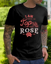I'm Right On Top Of That Rose Classic T-Shirt lifestyle-mens-crewneck-front-7