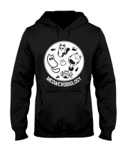 Meowcrobiology Microbiology cat lover Hooded Sweatshirt thumbnail