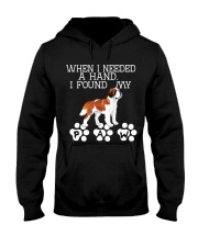 St Bernard gives paw when I need hand Hooded Sweatshirt thumbnail