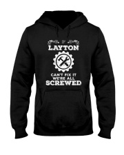 Everybody needs awesome Layton Hooded Sweatshirt thumbnail