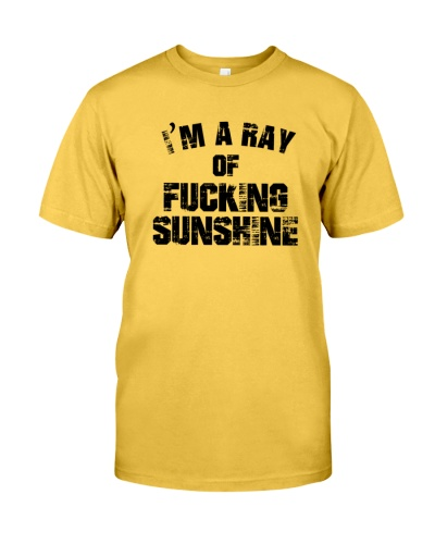 I'm a ray of fucking sunshine