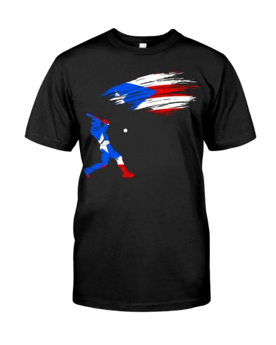 Puerto Rico Flag Baseball
