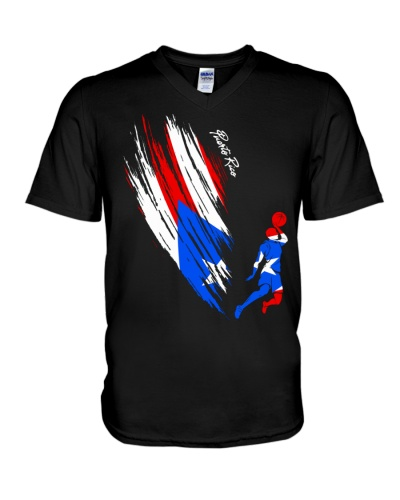 Puerto Rico Basketball Flag