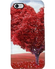 Red Heart Tree Phone Case thumbnail