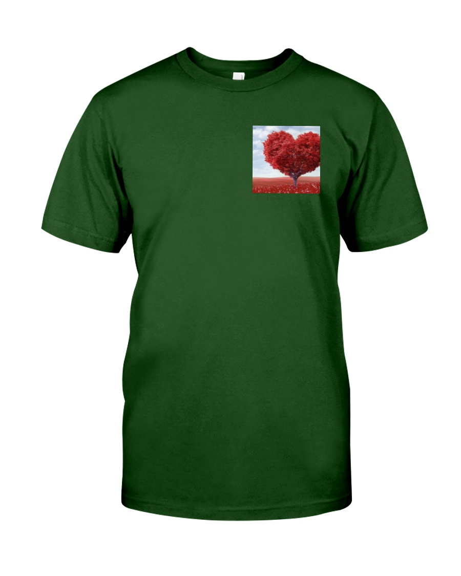 Red Heart Tree Classic T-Shirt