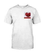 Red Heart Tree Classic T-Shirt thumbnail