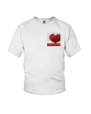 Red Heart Tree Youth T-Shirt thumbnail
