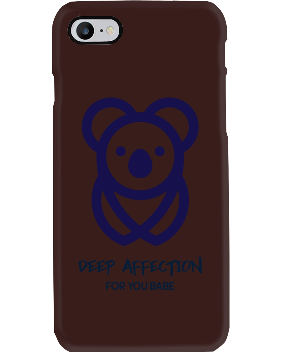 Deep Affection For You Babe Phone Case