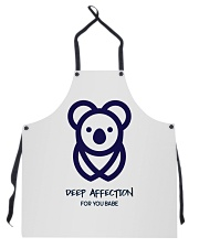 Deep Affection For You Babe Apron thumbnail