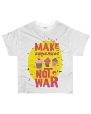 Make cupcakes All-over T-Shirt front