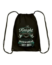 Ironworker Shirt Drawstring Bag thumbnail