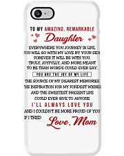 TO MY AMAZING REMARKABLE DAUGHTER Phone Case thumbnail