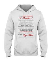 TO MY AMAZING REMARKABLE DAUGHTER Hooded Sweatshirt thumbnail