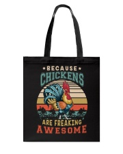 BECAUSE CHICKENS ARE FREAKING AWESOME Tote Bag thumbnail