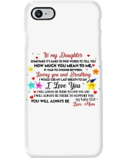 TO MY DAUGHTER SOMETIMES IT'S HARD TO FIND WORDS  Phone Case thumbnail